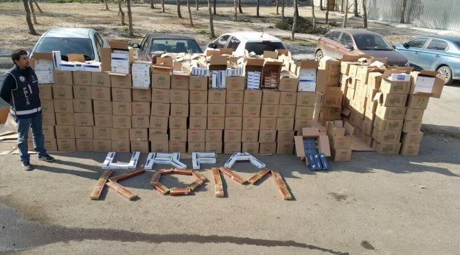 Şanlıurfa'da kaçak sigaraya 21 tutuklama