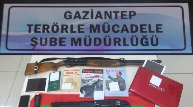 Gaziantep'te PKK/KCK operasyonunda 15 tutuklama