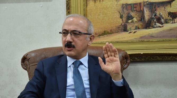 Bakanı Elvan: Şanlıurfa bölgenin parlayan yıldızı olacak (2)