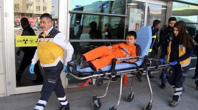 Kayseri'de sobadan 4 kişi zehirlendi
