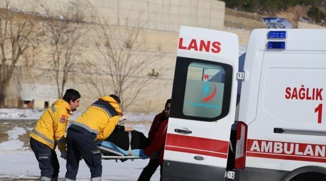 Artvin'de hava ambulansı hamile kadın için havalandı