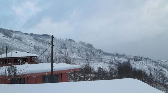 Ordu'da 400'den fazla mahalle yolu kardan kapandı