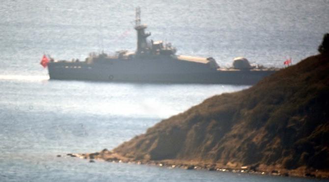 Türk askeri Ege'de nöbette