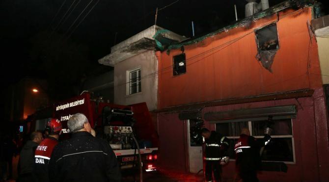 Fırın yangınında 1 kişi ağır yaralandı