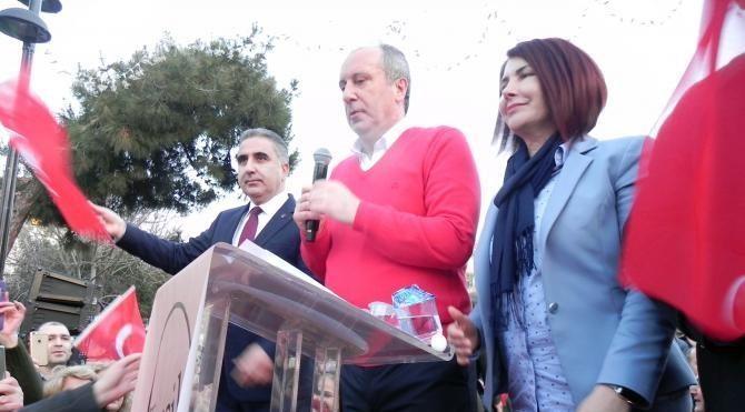 CHP'den 'Hayır' için ilk açık hava toplantısında Azerbaycan'a teşekkür