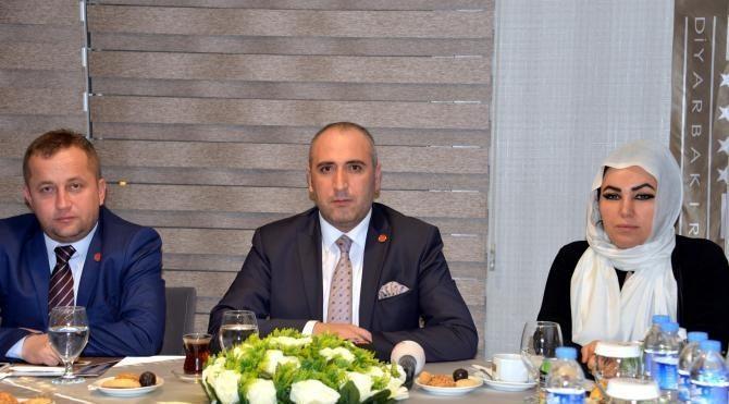 BİRKONFED Başkanı Ünsal: Diyarbakır'a 400 milyon liralık yatırım yapacağız