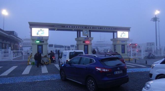 Çanakkale Boğazı, transit gemi geçişlerine kapatıldı