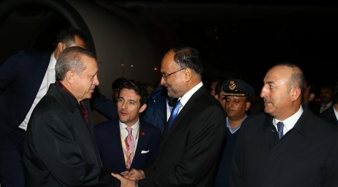 Cumhurbaşkanı Erdoğan Pakistan'da (2)