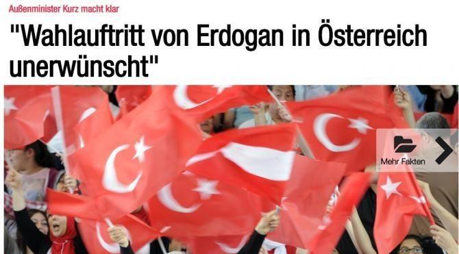 Avusturyalı Bakan'dan Cumhurbaşkanı Erdoğan'a: Referandum için gelme