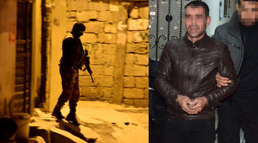 Sosyal medyada PKK övenlere operasyon: 22 gözaltı