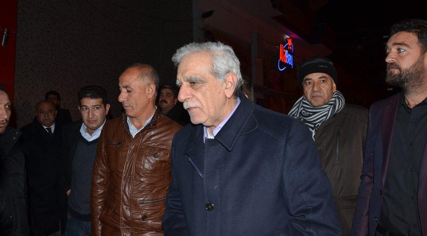 Ahmet Türk Mardin'e gitti