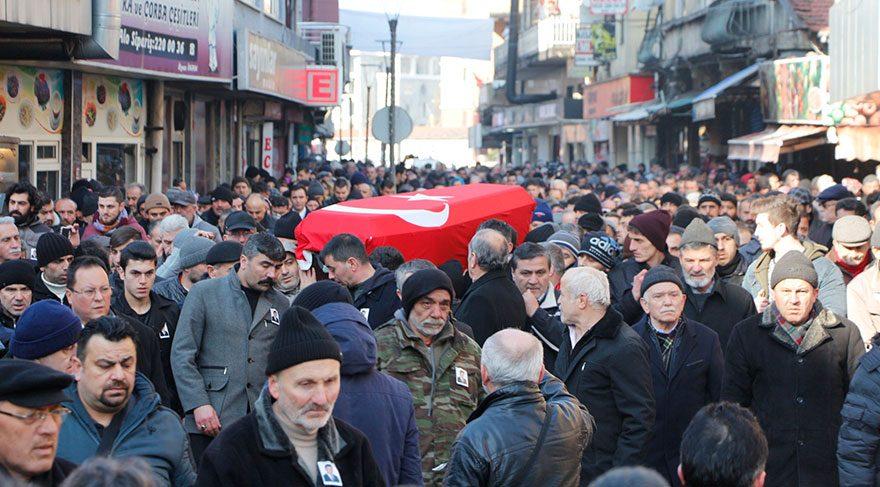 AKP'li Belediye Başkanı Ertan Şahin son yolculuğuna uğurlandı