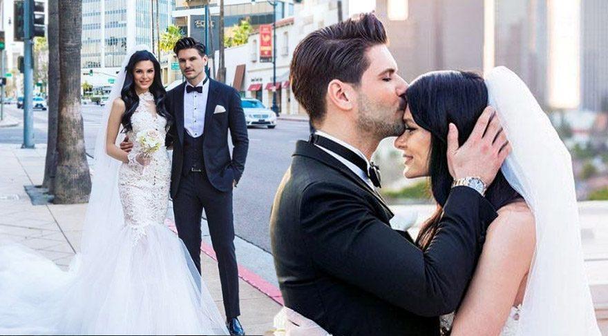 Tolgahan Sayışman ve Almeda Abazi'nin düğününden detaylar