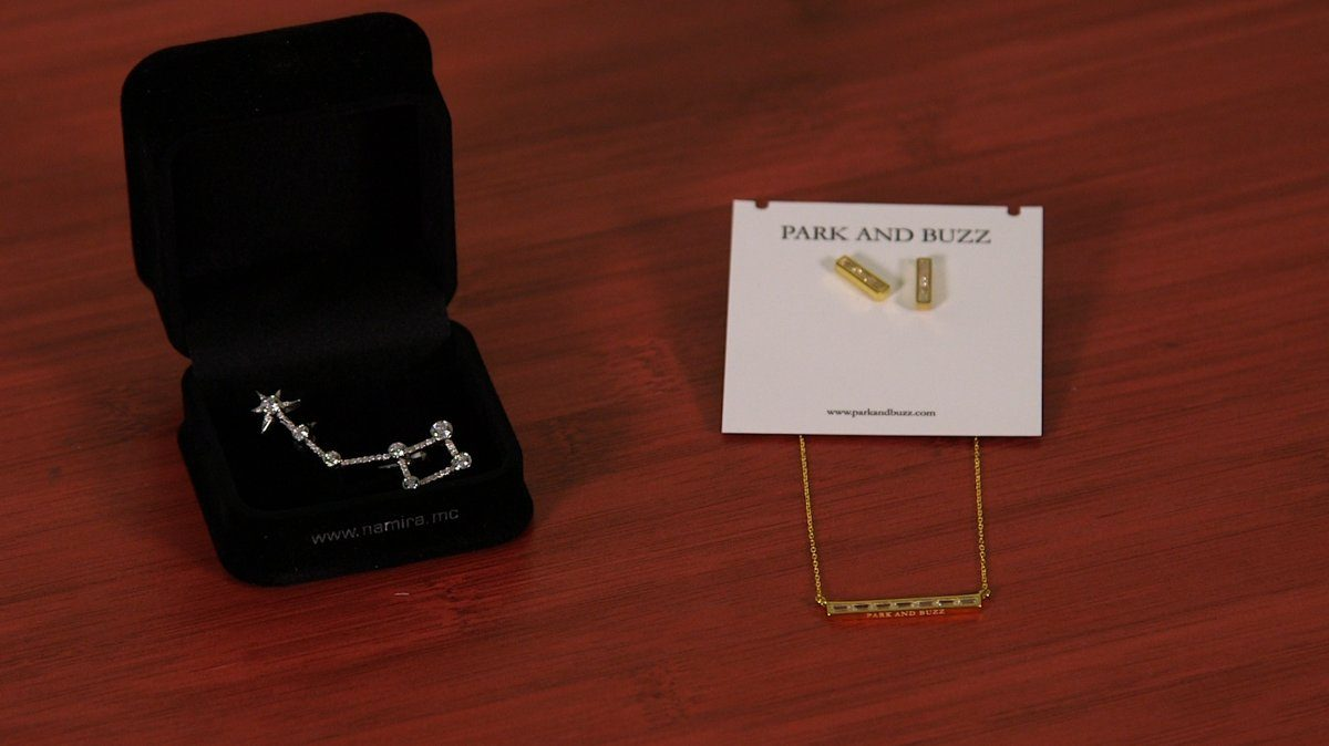 an-exclusive-constellation-pendant-from-namira-monaco-comes-alongside-earrings-and-a-necklace-from-park-and-buzz