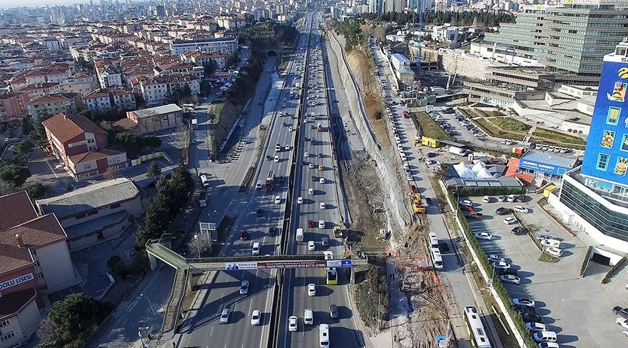 Anadolu Yakası'na yeni yol geliyor… Sahil, E-5 ve TEM yolları entegre olacak