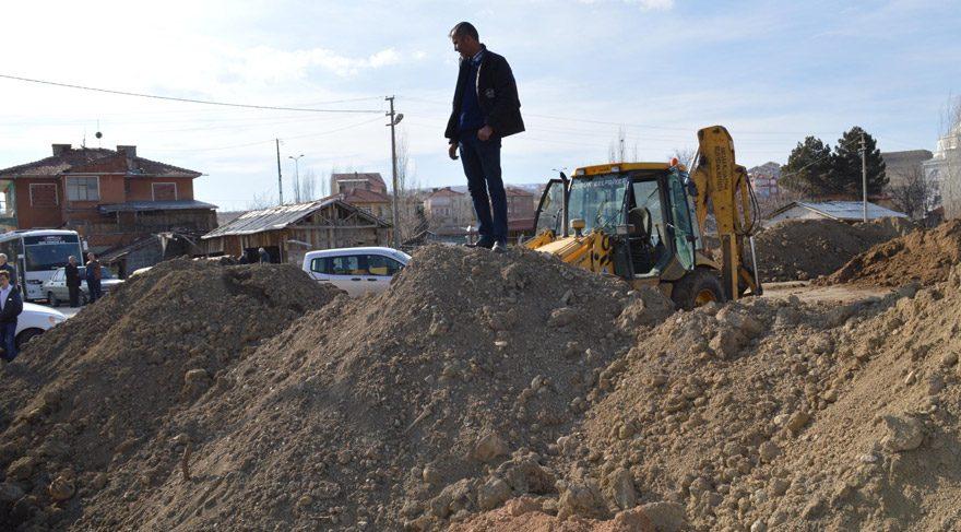 Ankara Çubuk'ta park alanına dökülen topraktan insan kemikleri çıktı