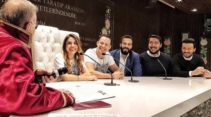 Avatar Atakan, nişanlısı Serap Korkmaz ile nikâh evlendi
