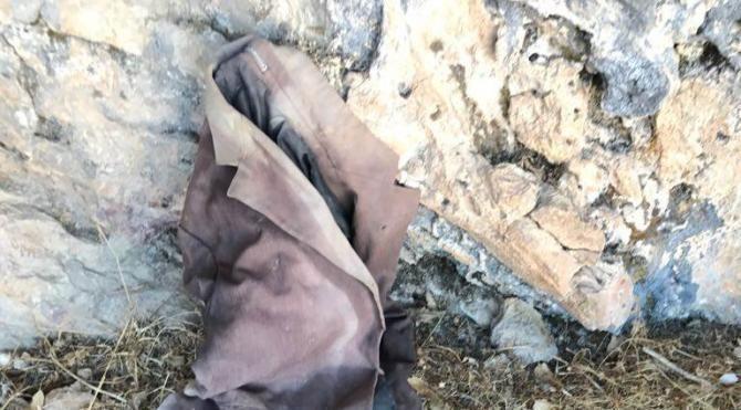 Hakkari'de PKK'ya ait patlayıcı yapımında kullanılan malzemeler ele geçirildi