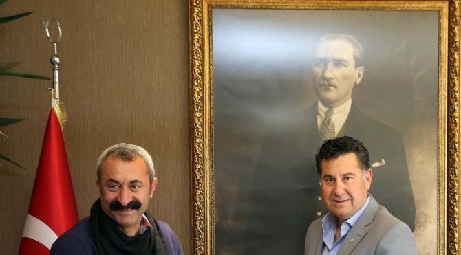 TKP'li Başkan'dan Kocadon'a ziyaret