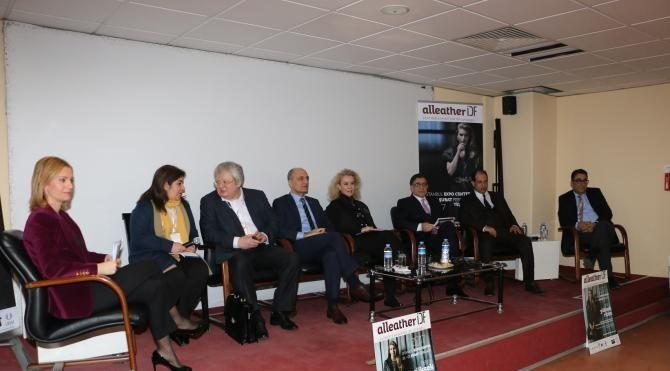 Türk – Rus ticari ilişkileri İstanbul Deri Fuarı'nda masaya yatırıldı