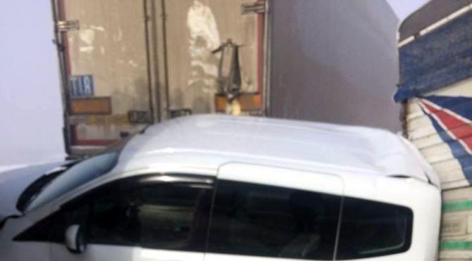 Batman Kozluk yolunda zincirleme kazada 10 araç çarpıştı