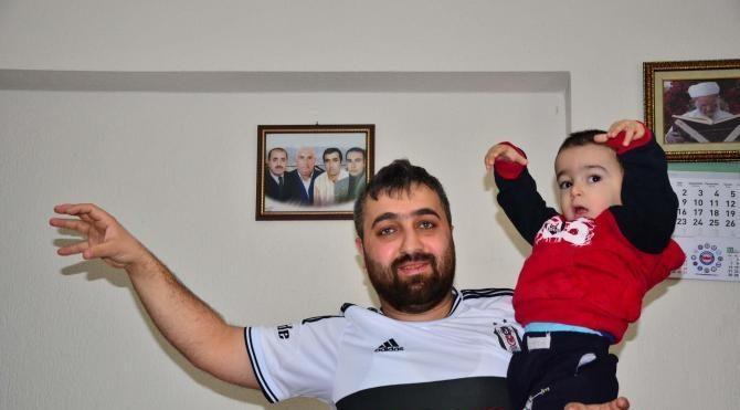 Fanatik baba oğlunun adını Beşiktaş koydu