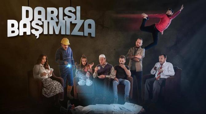 Kosova'da 'Darısı Başımıza' tiyatro oyununa yoğun ilgi