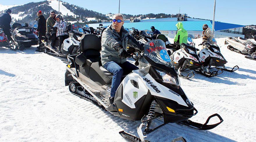 Mehmet Ali Ağca Uludağ'da tatilde