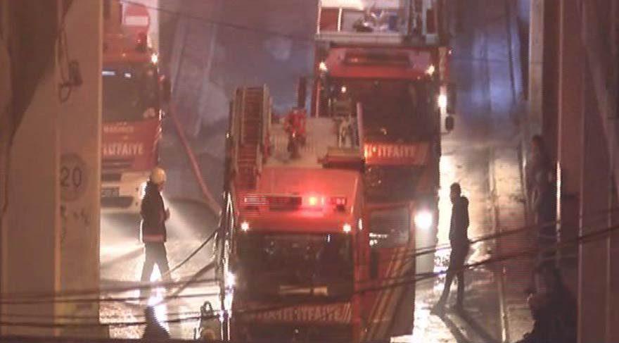 Son dakika haberi… İstanbul Bayrampaşa Otogarı'nda yangın