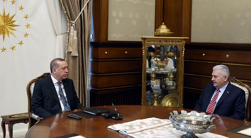 Erdoğan ve Yıldırım arasındaki kritik görüşme sona erdi