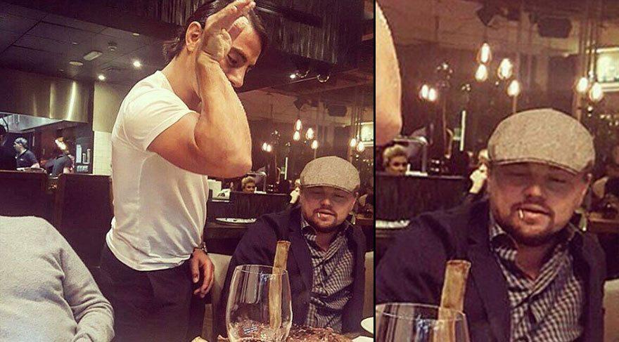 Nusret'ten Leonardo DiCaprio paylaşımı