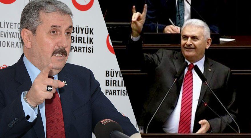 BBP Genel Başkanı'ndan 'Bozkurt' tepkisi!