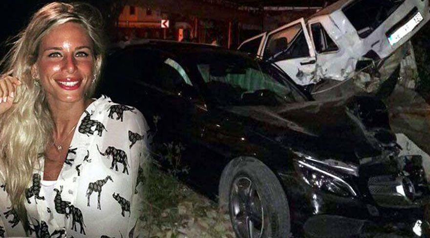 4 otomobile çarpan sürücü ölümden döndü
