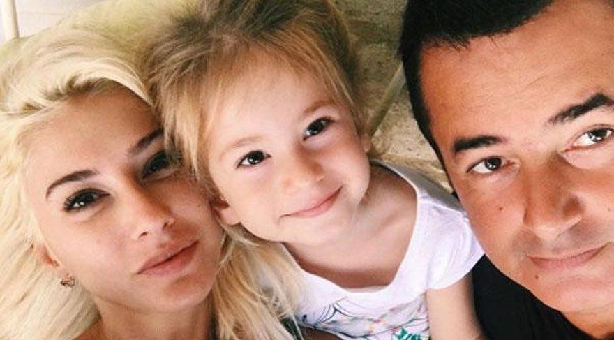 Acun Ilıcalı'nın 4 yaşındaki kızı konuştuğu İngilizce ile herkesi şaşırttı