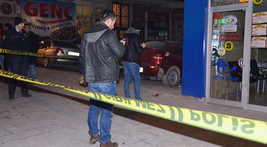Malatya'da silahlı saldırıya uğrayan genç ağır yaralandı