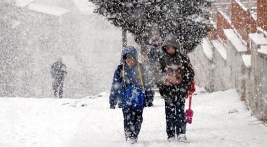 Kastamonu ve Karabük'te toplam 3 ilçede okullar tatil