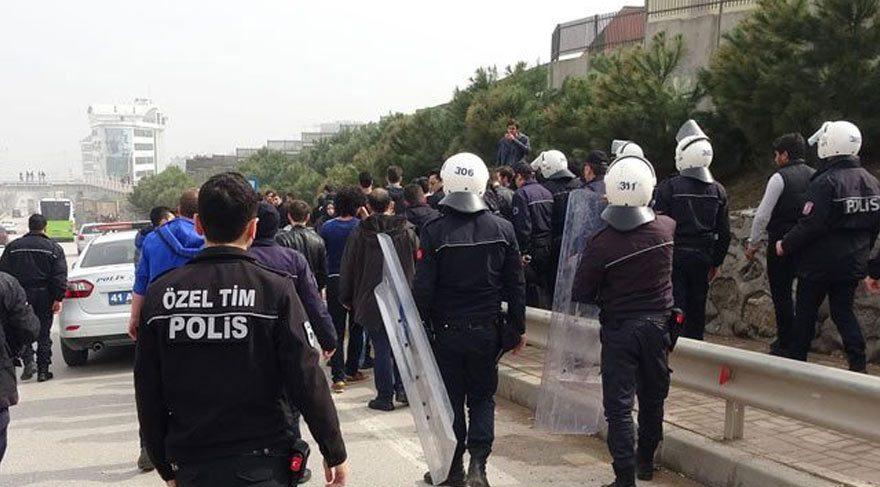 Kocaeli Üniversitesi'nde öğrenciler birbirine girdi: 47 gözaltı