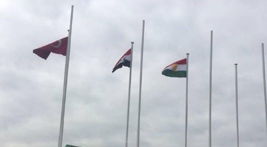 Sözde Kürdistan bayrağının, İstanbul ve Ankara'da göndere çekilmesine tepkiler çığ gibi büyümeye devam ediyor!