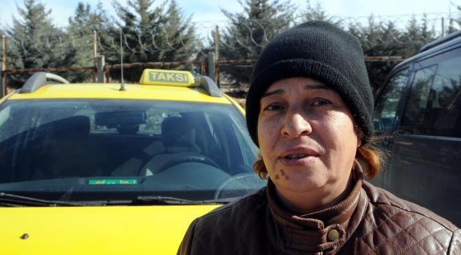 Gaziantep'in tek kadın taksi şoförü