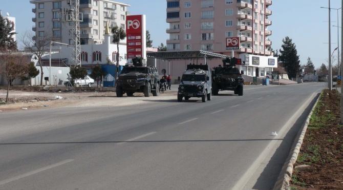 El Bab'a, askeri araç ve iş makinesi gönderildi