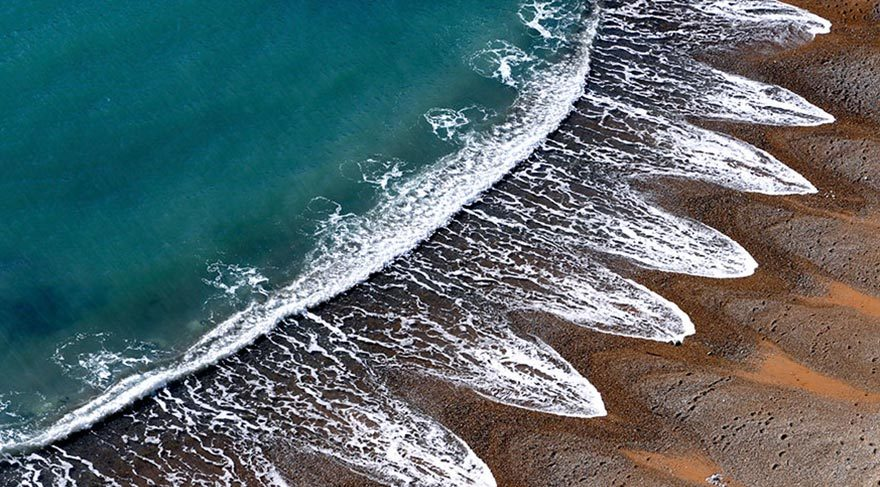 Bilim insanlarının açıklayamadığı gizemli kumsal şekilleri
