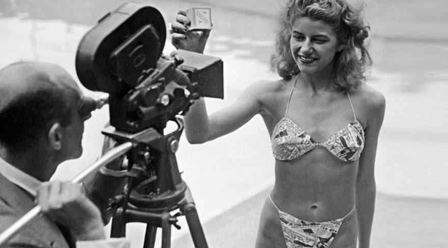 Dünyanın ilk bikinisini o giydi