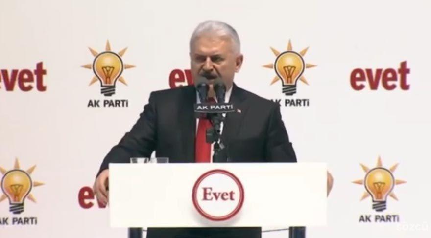 Başbakan Yıldırım'ın referandum toplantısı konuşması