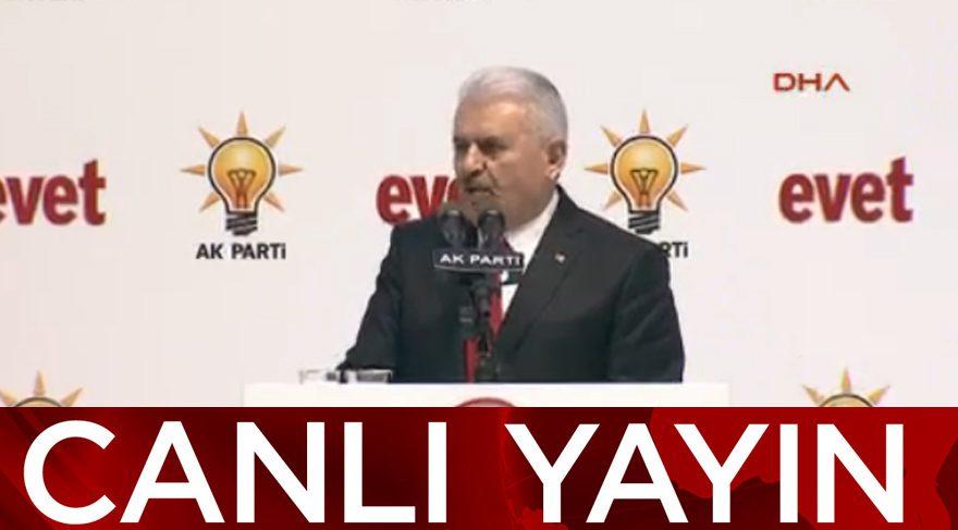 AKP'nin referandum kampanyası başladı
