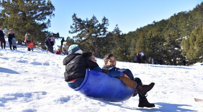 'Kar' gören Adanalı coştu