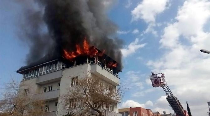 FETÖ'nün eski okuma salonunda yangın çıktı