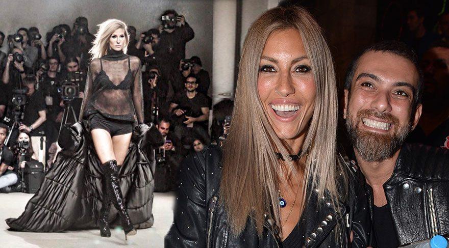 Çağla Şıkel, New York Moda Haftası'nda podyumda yürüdü