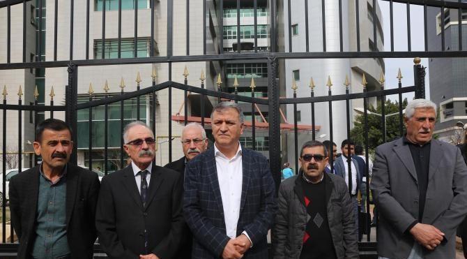 HDP Eş Genel Başkanı Yüksekdağ, Mersin'de yargılanıyor