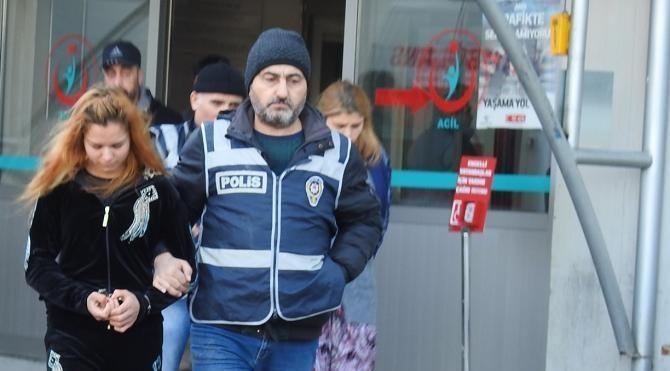 Aranırken polisin yakaladığı 6 şüpheli tutuklandı