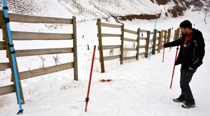 İzinsiz girilen kayak pistinde ölüme takipsizlik
